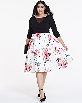 Coast Eartha Full Midi Dress