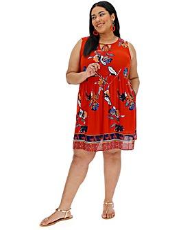2c8f213bb5a7 Vero Moda Floral Print Sleeveless Dress