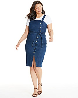 Vero Moda Button Up Denim Dress