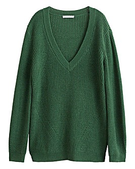 Violeta By Mango V Neck Sweater