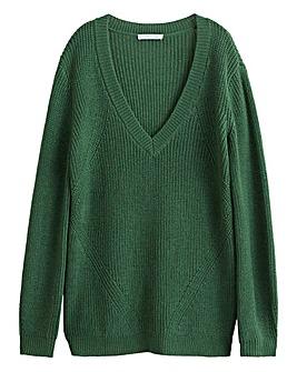 Violete by Mango V Neck Sweater