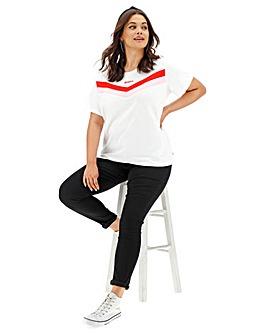 Levi's Florence Chevron Stripe T-Shirt