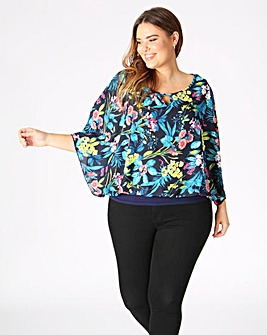 Lovedrobe Multi Floral Blouse