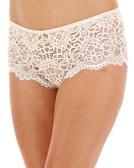 Jade Lace Midi Short