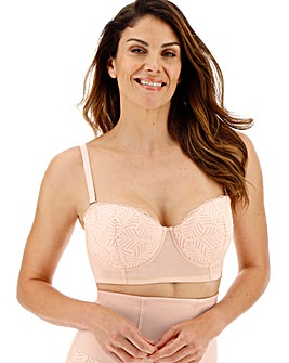 Joanna Hope Leaf Longline Multiway Bra