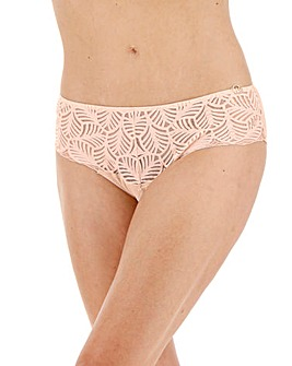 Joanna Hope Leaf Midi Brazilian Brief