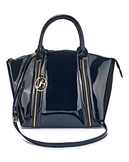 Joanna Hope Patent Tote Bag