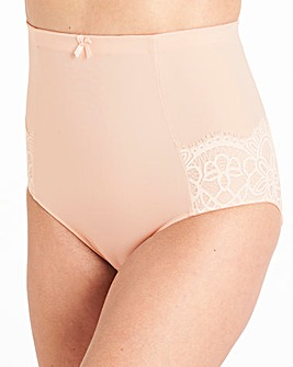 Pretty Secrets Jade Lace Firm Control Brief Blush