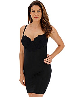 Pretty Secrets Jade Lace Firm Control Multiway Slip Black