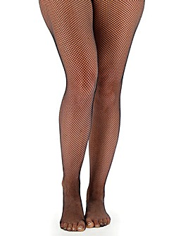 Pretty Secrets Black 1 Pack Fishnet Tights