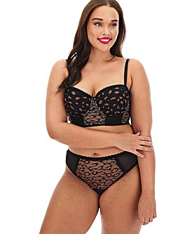 Simply Be Animal Lace Padded Multiway
