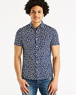 J By Jasper Conran Pool Print Shirt