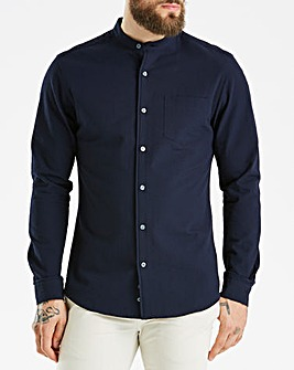 J By Jasper Conran Navy Grandad Shirt