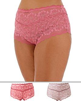 2PK Katie Lace Midi Shorts