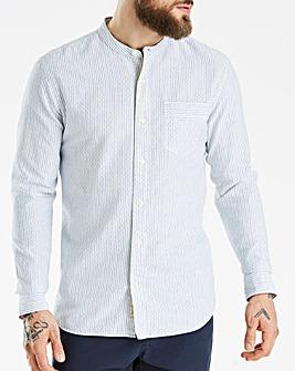 Hammond & Co Dobby Grandad Shirt