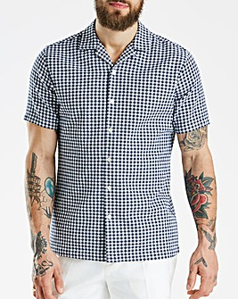 Hammond & Co Gingham Crepe Shirt