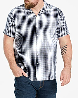 Hammond & Co Gingham Crepe Shirt