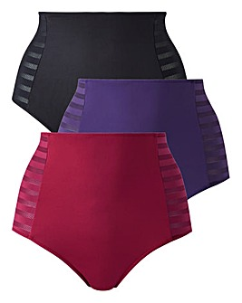 3 Pack Tummy Tamer Full Fit Briefs