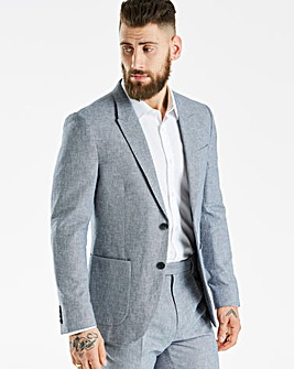 Hammond & Co Blue Sharkskin Blazer