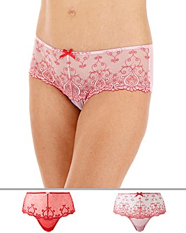 2 Pack Emma Midi Briefs