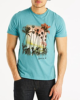 Mantaray Palm Tree T-Shirt