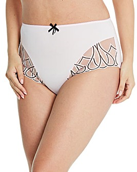 Amelie Embroidered Full Fit Briefs