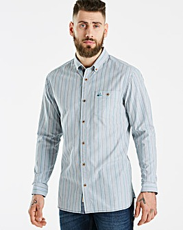 Mantaray Multi Stripe Shirt