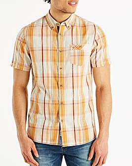Mantaray Solid Check Shirt