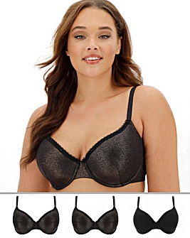 3 Pack Value T Shirt Bras