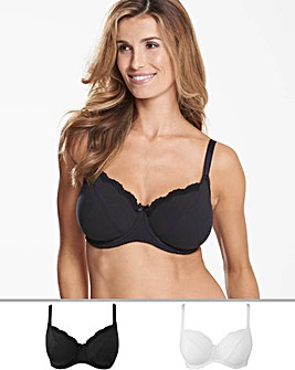 2Pack Sophie Full Cup Wired Bras