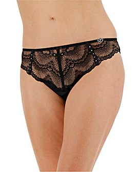 Joanna Hope Satin and Lace Brief