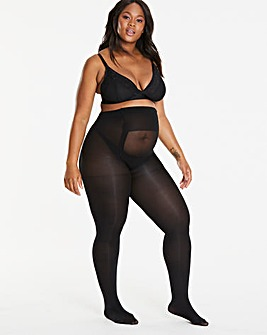 Pretty Secrets 2 Pack 100 Denier Maternity Tights