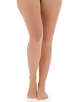 Pretty Secrets 3 Pack Beige 15 Denier Ladder Resist Tights