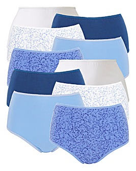 10 pack Full Fit Briefs