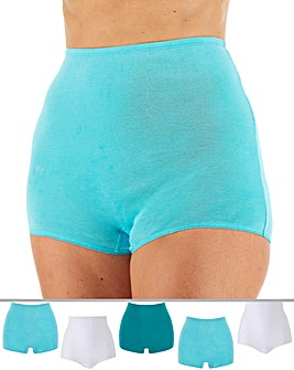 Pretty Secrets 5 Pack Pastel Coloured Comfort Shorts
