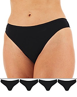 4 Pack Value Thong