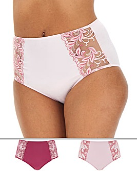 2 Pack Flora Full Fit Briefs