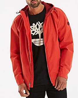 Timberland Burnt Orange Ragged Packable Raincoat Regular