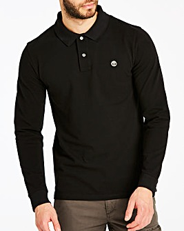 Timberland Black L/S Millers Polo R