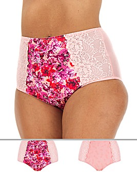 2 Pack Laura Full Fit Briefs
