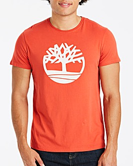 Timberland Orange Tree Logo T-Shirt R