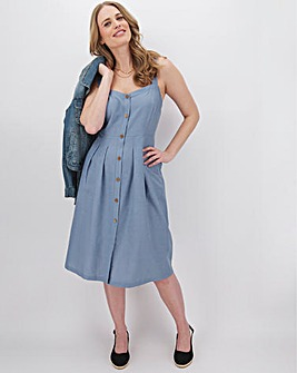 Joe Browns Fabulous New Linen Mix Dress