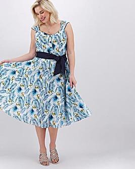 Joe Browns Palm Print Prom Dress