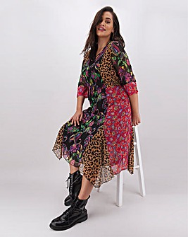 Joe Browns Animal Mix Print Dress