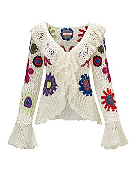 Joe Browns Crochet Cardigan