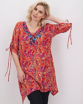 Joe Browns Paisley Embroidered Tunic