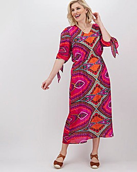 Joe Browns Summer Tile Print Dress
