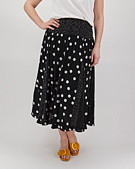 Joe Browns Dotty Godet Skirt