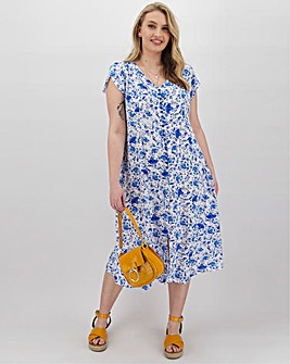Joe Browns Sizzling Blues Summer Dress