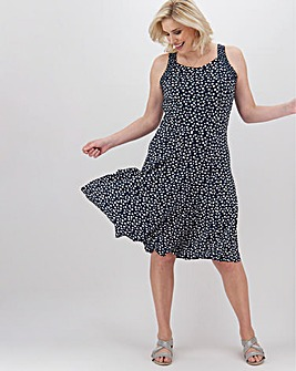Joe Browns Essential Spot Jersey Dress